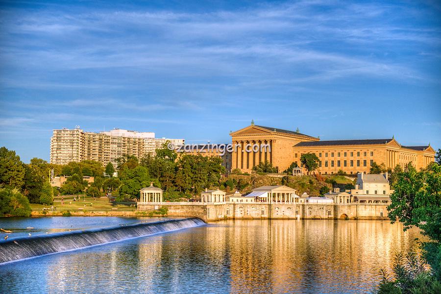 Art Museum, Philadelphia PA; Urban; Architecture; Building;   Architectural