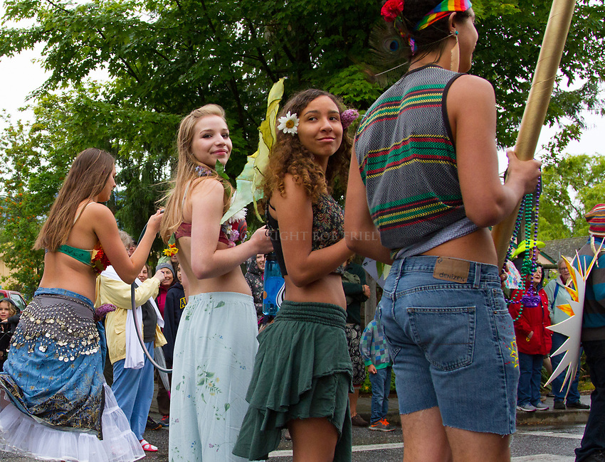 Scenes from the Orcas Island, WA, Summer Solstice Parade