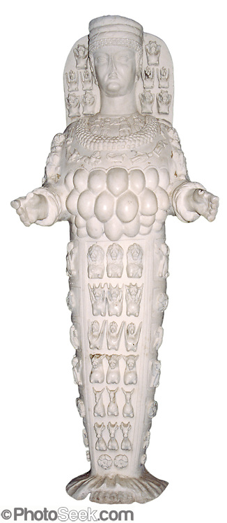 Study this big greco roman statue of ephesian artemis in for Artemis study
