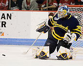 Joe Cannata (Merrimack - 35) - The visiting Merrimack College Warriors tied the Boston University Terriers 1-1 on Friday, November 12, 2010, at Agganis Arena in Boston, Massachusetts.