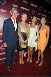 "model Karen Bjornson and family attend the New York Premiere of  HBO's ""About Face: Supermodels Then and Now"" on July 17, 2012 at The Paley Center for Media in New York City. This was filmed by Timothy Greenield-Sanders."