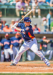 15 March 2016: Houston Astros infielder Alex Bregman, ranked the 3rd Top Prospect in the Astros organization for 2016 by Baseball America, in action during a Spring Training pre-season game against the Washington Nationals at Osceola County Stadium in Kissimmee, Florida. The Astros fell to the Nationals 6-4 in Grapefruit League play. Mandatory Credit: Ed Wolfstein Photo *** RAW (NEF) Image File Available ***