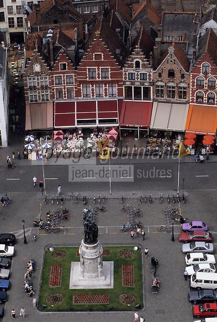 Europe/Belgique/Flandre/Flandre Occidentale/Bruges : La Grand-Place