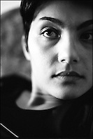 Portrait of Sladjana. Bujanovac, Serbia, Yugoslavia,  April 2001 &copy; Stephen Blake Farrington<br />