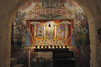 Mimmo Cuticchio theatre..teatrino dell'opera dei pupi di Mimmo Cuticchio