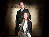 Strife <br /> by John Galsworthy<br /> directed by Bertie Carvel <br /> at Minerva theatre, Chichester, London, Great Britain <br /> Press photocall <br /> 16th August 2016 <br /> <br /> Ian Hughes as David Roberts<br /> Lucy Black as Annie Roberts <br /> <br /> Photograph by Elliott Franks <br /> Image licensed to Elliott Franks Photography Services