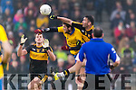 Ambrose O'Donovan Dr Crokes in action against Dylan Guiry The Nire at Mallow on Sunday