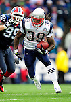 20 December 2009: New England Patriots' running back Laurence Maroney gains yardage against the Buffalo Bills at Ralph Wilson Stadium in Orchard Park, New York. The Patriots defeated the Bills 17-10. Mandatory Credit: Ed Wolfstein Photo