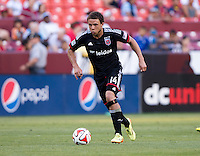 Landover, MD - June 7, 2014: D.C. United tied the Columbus Crew 1-1 at FedEx Field.