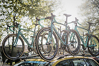 Team LottoNL-Jumbo's Bianchi's ready for Roubaix<br /> <br /> 115th Paris-Roubaix 2017 (1.UWT)<br /> One Day Race: Compi&egrave;gne &rsaquo; Roubaix (257km)