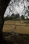 The Mayan ruins of Iximché, near Tecpán Guatemala. Iximché was once the main city of the Kaqchikel Maya people,