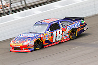 19 June, 2011: Kyle Busch during the 43rd Annual Heluva Good! Sour Cream Dips 400 at Michigan International Speedway in Brooklyn, Michigan.