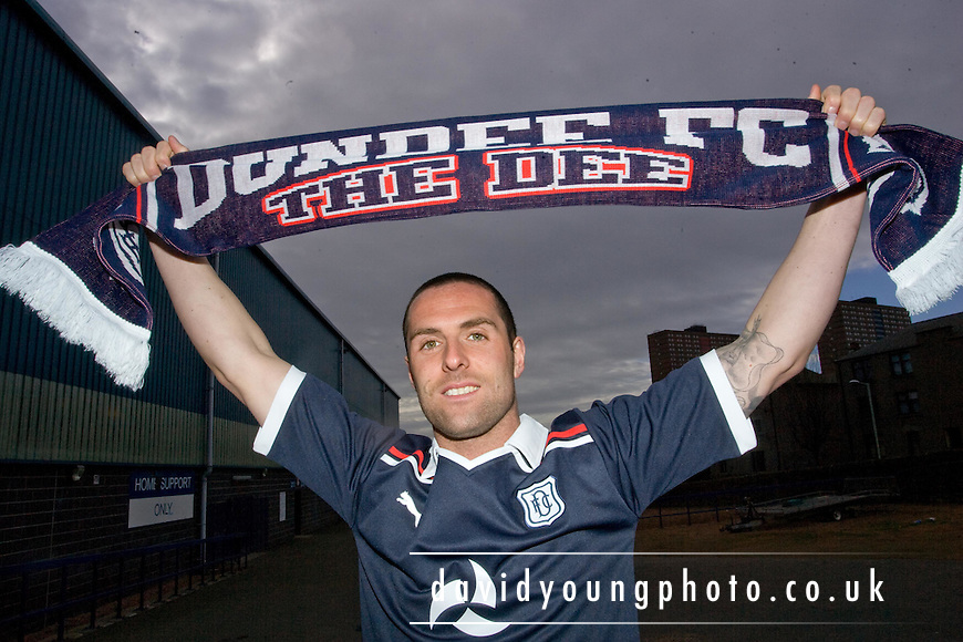 Dundee new boy Mark Fotheringham | David Young