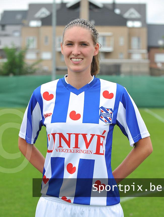 SC Heerenveen Dames : Cynthia Beekhuis.foto DAVID CATRY / Vrouwenteam.be