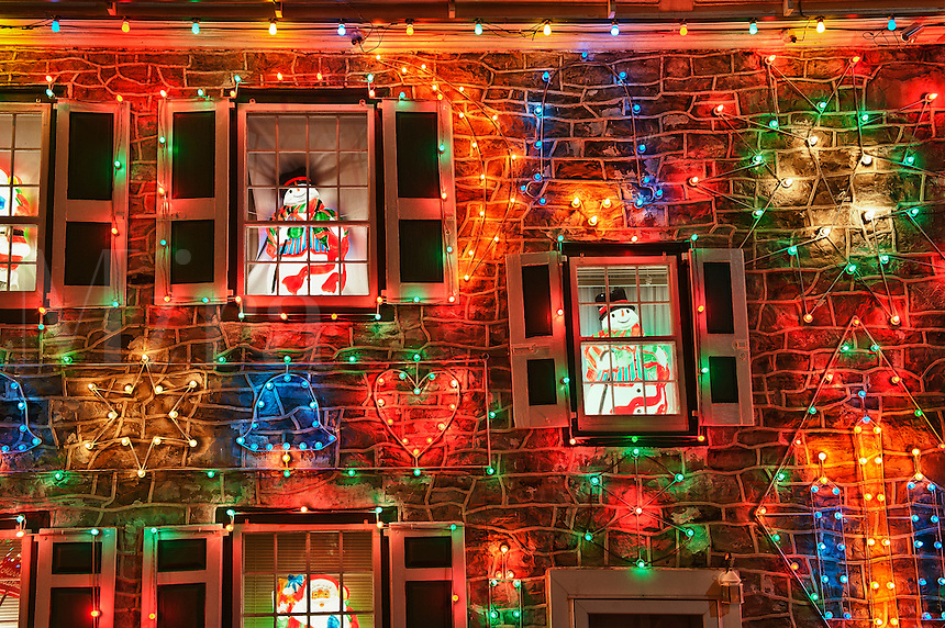 ... Christmas lights, Koziar's Christmas Village, Bernville, PA