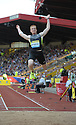 Athletics-Aviva Birmingham Grand Prix-26/08/2012-Pictures by Paul Currie-KEEP-Greg Rutherford jumps