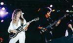 John Sykes, Phil Lynott, Scott Gorham of Thin Lizzy