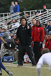 10 November 2007: NC State head coach George Tarantini. The Duke University Blue Devils defeated the North Carolina State University Wolfpack 2-0 at Method Road Soccer Stadium in Raleigh, North Carolina in an Atlantic Coast Conference NCAA Division I Men's Soccer game.
