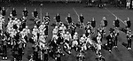 Bethel Park PA:  Bethel Park Band and Bethettes performing during Senior Night at Bethel Park High School Football field - 1970  Bethel Park Football Team running onto the field before the game.  Coaches; Rudy Andabaker, Mouch Mongelluzzo, Ron Eisaman, and Biff Baker