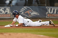 SAN ANTONIO, TX - MARCH 07, 2014: The Florida Atlantic University Owls versus the University of Texas at San Antonio Roadrunners Baseball at Roadrunner Field. (Photo by Jeff Huehn)