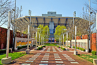 US Open, Arthur Ashe Stadium, a part of the USTA Billie Jean King National Tennis Center located within Flushing Meadows-Corona Park, Queens, New York City, New York, USA, opened in 1997