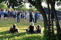 Di Derre med Jo Nesbø i spissen. Foto: Bente Haarstad Sommerfestivalen i Selbu er en av Norges største musikkfestivaler. Sommerfestivalen is one of the biggest music festivals in Norway.