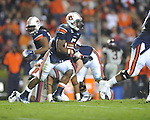 Auburn running back Michael Dyer (5) runs vs. Ole Miss at Jordan-Hare Stadium in Auburn, Ala. on Saturday, October 29, 2011. Auburn won 41-23..