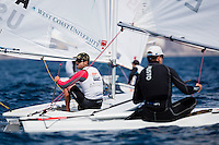 20140331, Palma de Mallorca, Spain: SOFIA TROPHY 2014 - 850 sailors from 50 countries compete at the ISAF Sailing World Cup event.  Laser - USA182345 - Charlie Buckingham. Photo: Mick Anderson/SAILINGPIX