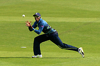 Daniel Bell-Drummond of Kent takes a catch to dismiss Daniel Lawrence during Kent Spitfires vs Essex Eagles, Royal London One-Day Cup Cricket at the St Lawrence Ground on 17th May 2017