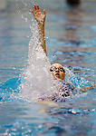 Ariana Kukors swims the backstroke leg of the Women's 200 Yard IM event at the AT & T Short Course National Championships in Federal Way, WA., on.Thursday, Dec. 3, 2009.Kukors posted a winning time of 1:55.40. JIm Bryant Photo. 2009. All Rights Reserved...