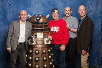 Nicholas Pegg, Barnaby Edwards, Nicholas Briggs & Dalek