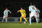 15.01.2013. Torquay, England. Torquay's Billy Bodin turns Guillem Bauza during the League Two game between Torquay United and Exeter City from Plainmoor.