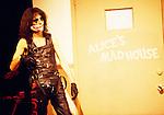 Alice Cooper 1979 on Misnight Special.© Chris Walter.