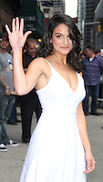 OCT 16 Jenny Slate at Late Show with David Letterman