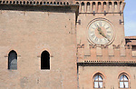 Main piazza in Bologna, Italy.