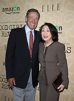 NEW YORK, NY-October 18:Maury Povich, Connie Chung at Amazon Originasl Series Good Girls Revolt screening  at the Joseph Urban Theater at Hearst Tower in New York.October 18, 2016. Credit:RW/MediaPunch