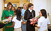 05.04.2017; Washington DC, USA: QUEEN RANIA AND FIRST LADY MELANIA TRUMP<br />visit the Excel Academy Public Charter School.<br />Mandatory Photo Credit: &copy;RHC/NEWSPIX INTERNATIONAL<br /><br />PHOTO CREDIT MANDATORY!!: NEWSPIX INTERNATIONAL(Failure to credit will incur a surcharge of 100% of reproduction fees)<br /><br />IMMEDIATE CONFIRMATION OF USAGE REQUIRED:<br />Newspix International, 31 Chinnery Hill, Bishop's Stortford, ENGLAND CM23 3PS<br />Tel:+441279 324672  ; Fax: +441279656877<br />Mobile:  0777568 1153<br />e-mail: info@newspixinternational.co.uk<br />&ldquo;All Fees Payable To Newspix International&rdquo;
