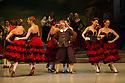 London, UK. 30.03.2013. The Mikhailovsky Ballet present DON QUIXOTE at the London Coliseum. Picture shows: Alexey Kuznetsov (Sancho Panza). © Jane Hobson.
