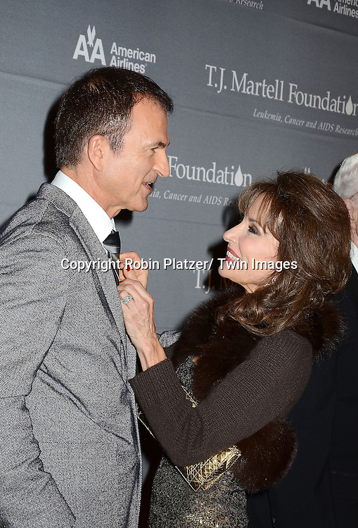 honoree Edward Walson and Susan Lucci  attend The 37th Annual TJ Martell Foundation Honors Gala on October 23, 2012 at Cipriani 42nd Street in New York City. The foundation is for Leukemia, Cancer and AIDS Reserarch.