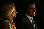 Mitt Romney, former Governor of Massachusetts and potential 2008 Republican candidate for President, and his wife, Ann, attend the Conservative Political Action Conference. Washington, D.C., March 2, 2007.