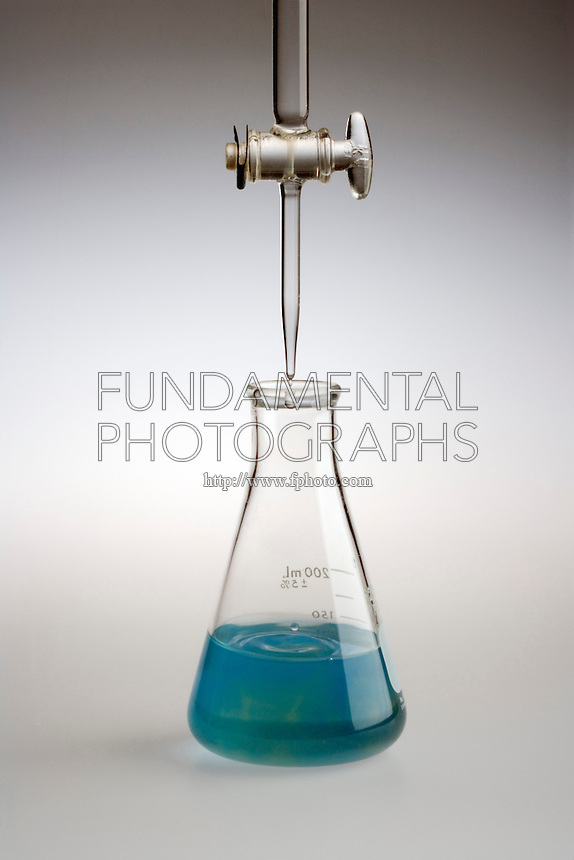 TITRATION TO DETERMINE MASS OF ASCORBIC ACID (3 of 4)<br /> Dissolved Vitamin C Neutralized By NaOH<br /> Neutralization of the solution by the addition 53.5 mL of 0.0520M sodium hydroxide is shown by the shift to green at the endpoint. Given reactant, sample volume &amp; titrant volume &amp; molarity, the actual mass of vitamin C in the tablet may be calculated.