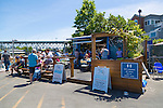 Go Fish, a fish and chips place in the Fisherman's Warf of Vancouver, B.C. serves up fresh fish right at the waterfront.