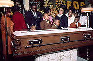 MARTIN LUTHER KING FUNERALS