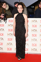 Annabelle Apsion at the National TV Awards 2017 held at the O2 Arena, Greenwich, London. <br /> 25th January  2017<br /> Picture: Steve Vas/Featureflash/SilverHub 0208 004 5359 sales@silverhubmedia.com
