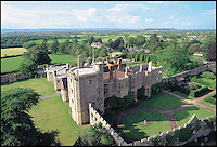 BNPS.co.uk (01202 558833)<br /> Pic: ThornburyCastle/BNPS<br /> <br /> Fancy a romantic Valentines stay in Britain's largest hotel bed?<br /> <br /> This massive four-poster at historic Thornbury Castle near Bristol is ten feet wide and takes four people to make, it's special bedding involves two king-size sheets and duvets stitched together, and eight pillows. <br /> <br /> The castle has had a turbulent history, built in 1511 as the country seat of Edward Stafford, 3rd Duke of Buckingham. But only 10 years later Henry VIII confiscated it after beheading the unfortunate Duke for alleged treason in 1521, and even whisked Anne Boleyn there in 1535 as part of their Honeymoon Tour.<br /> <br /> To stay in the romantic Tower Suite it will cost you &pound;650 for a two night Valentine special deal, that includes a five course meal for two, champagne on arrival and champagne truffles.