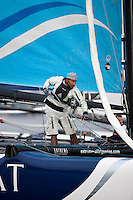 Extreme Sailing Series 2011. Act 3.Turkey . Istanbul.Credit Lloyd Images