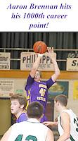 Guerin Boys Varsity Basketball vs. Pendleton Heights 2-15-13