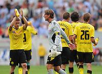 FUSSBALL   1. BUNDESLIGA  SAISON 2011/2012   2. Spieltag   13.08.2011 TSG 1899 Hoffenheim - Borussia Dortmund  Enttaeuschung Borussia Dortmund: Torwart Roman Weidenfeller