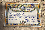 Cervantes Comment on Toledo, Spain