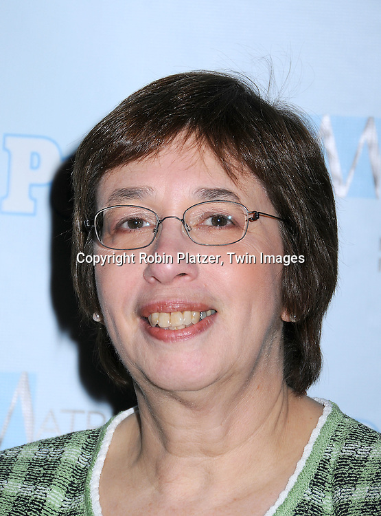 Linda Greenhouse, Supreme Court correspondent of The New York Times.posing for photographers at The 2008 Matrix Awards on .April 7, 2008 at The Waldorf Astoria Hotel in New York. Susan Gianinno, Anna Deavere Smith, Robin Roberts, Ruth Reichl, Linda Greenhouse, Joannie Danielides, Anne Sweeney and Diane Von Furstenberg were the honorees. ..Robin Platzer, Twin Images